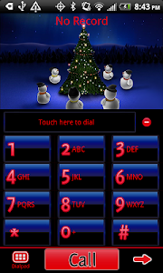 GO Contacts EX Christmas Theme screenshot 0
