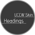 Headings - UCCW Skin icon
