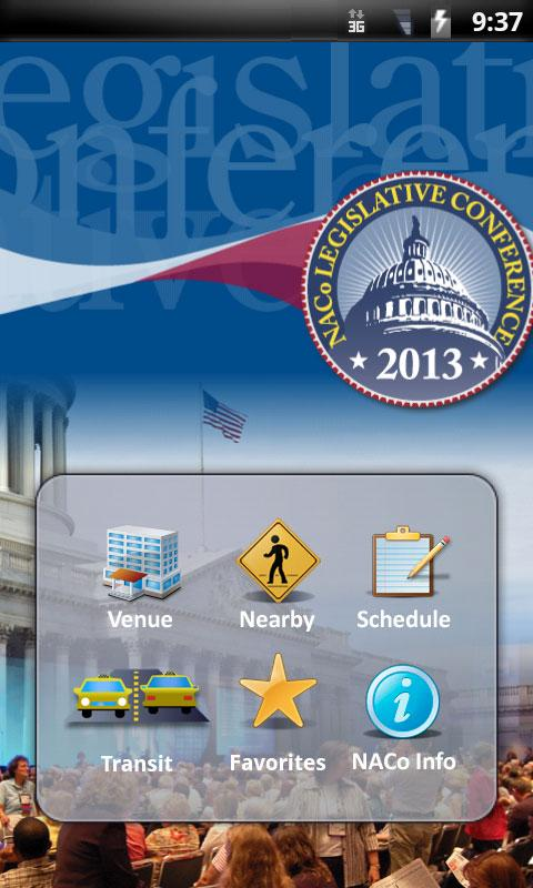 NACo Legislative Conference - screenshot