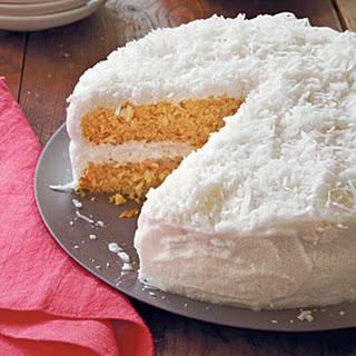 Double-Coconut Cake