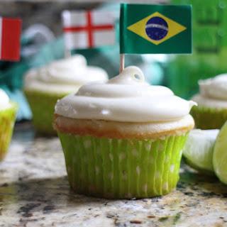 "Caipirinha Cupcakes with Cachaça Buttercream (a.k.a ""The World Cupcakes"")"