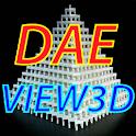 DAE View 3D logo