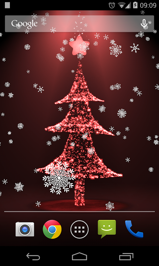 christmas live wallpaper 3d android apps on google play