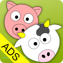 Cute Animal Life (Ads) icon