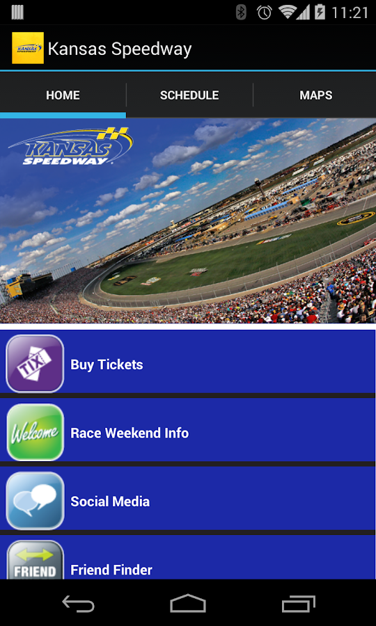 Kansas Speedway - screenshot