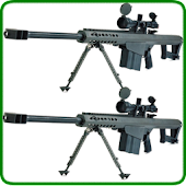 Rifle Barrett M82 Gun