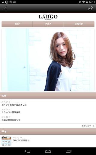 【免費生活App】Hairdesign LARGO by Dimple-APP點子