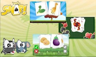 Screenshot of Snap ! Card  Game