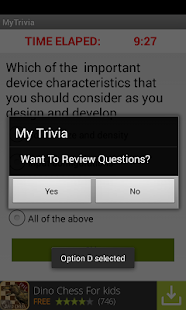 MyTrivia- screenshot thumbnail