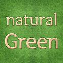 Natural Green Atom theme icon