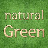 Natural Green Atom theme