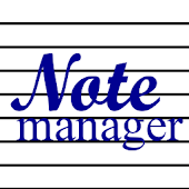 Noteman - note manager