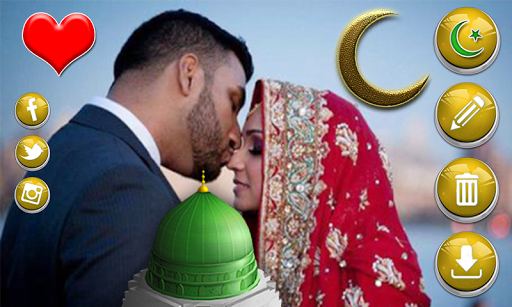 イスラム教のフォトステッカー