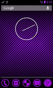 TESLA PURPLE CM / AOKP THEME - screenshot thumbnail