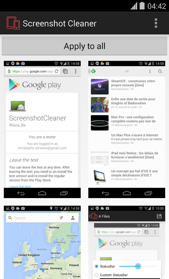 Screenshot Cleaner- screenshot
