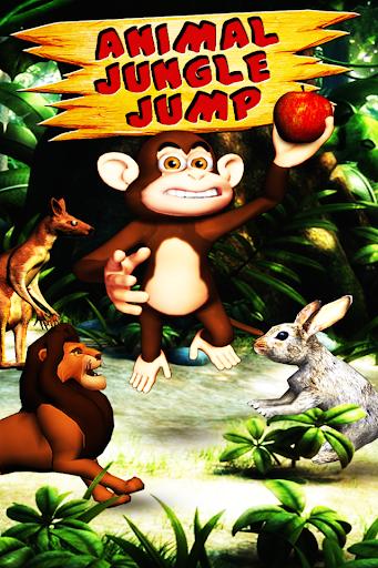 有趣的儿童动物丛林跳转