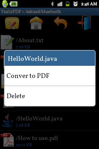 Text to PDF Converter