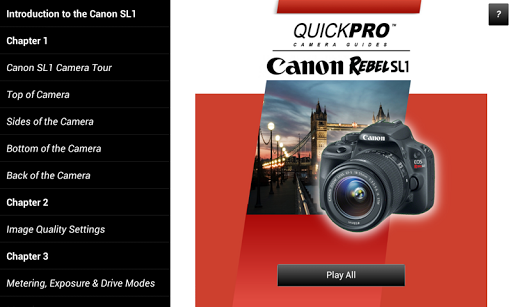 Guide to Canon Rebel SL1