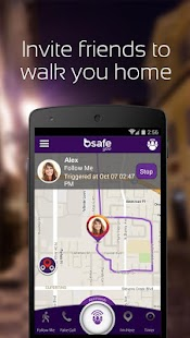 bSafe - Personal Safety App- screenshot thumbnail