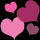 Hearts GO Launcher EX Theme icon