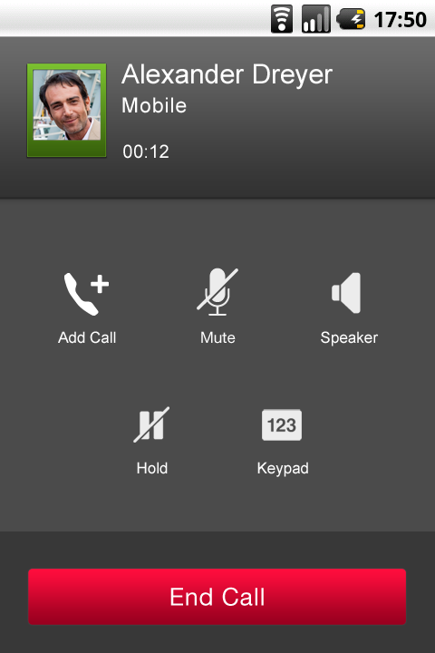 HomeTalk - screenshot