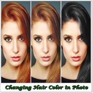Changing Hair Color in Photo APK