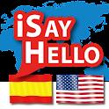 iSayHello Spanish – English US logo