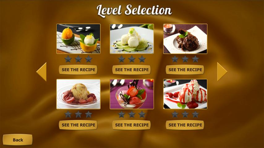 Carte d'Or Dessert Creator - screenshot
