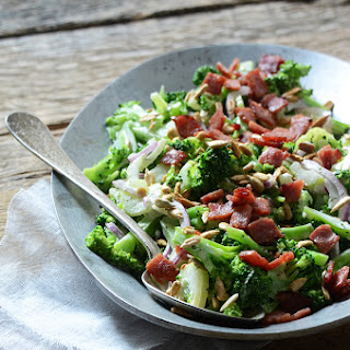 Crunchy Broccoli Salad with Creamy Dressing