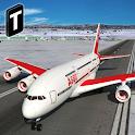 Snow Cargo Jet Landing 3D icon