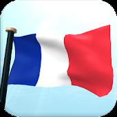 France Flag 3D Free Wallpaper