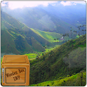 misty valley green grass LWP icon