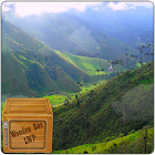 misty valley green grass lwp icon