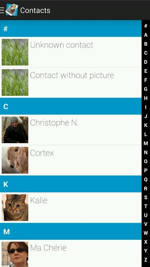 Full Screen Caller ID - screenshot