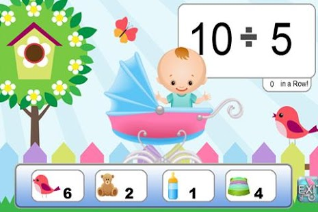 Baby Math Flash Cards