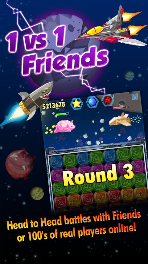 Diamond Space - Jewel Dash - screenshot