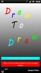 DrawToDraw- screenshot thumbnail