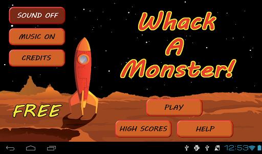 Whack a Monster! FREE Screenshot