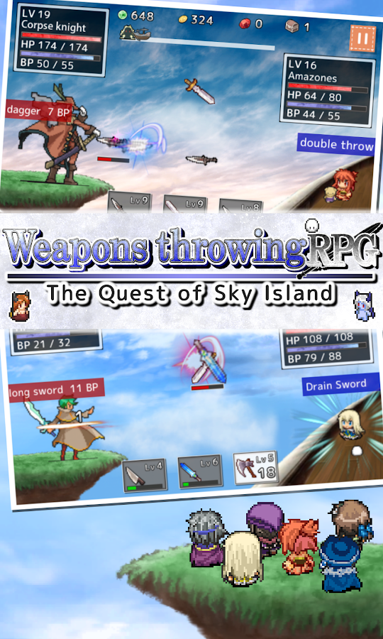 Weapons throwing RPG- screenshot