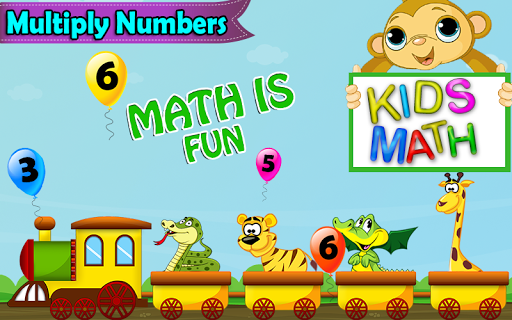 Kid learn Multiplication Table