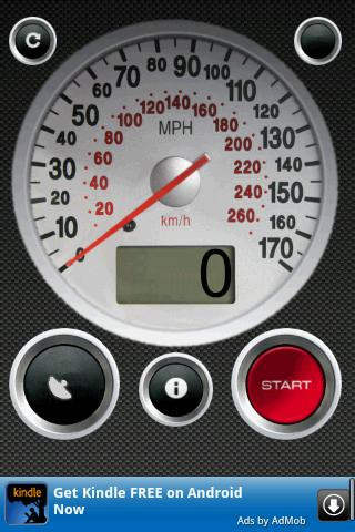 GPS Speed Free - screenshot