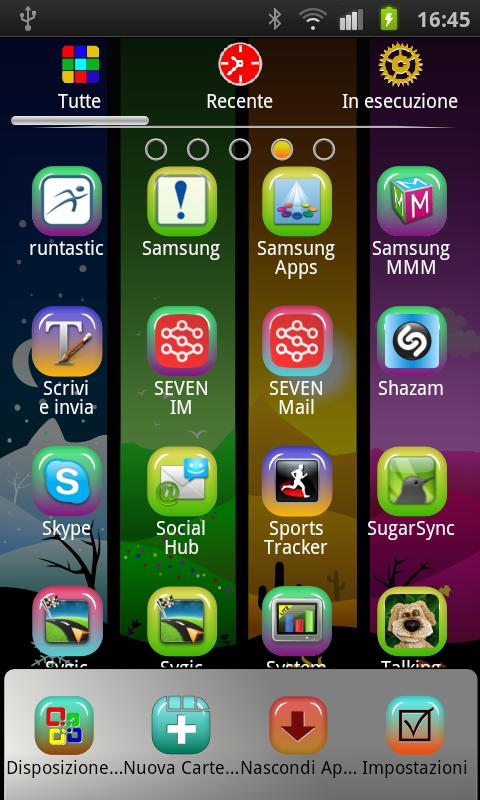 Season  theme GO Launcher EX - screenshot