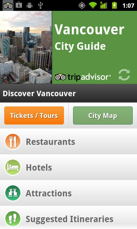 Vancouver City Guide screenshot #1