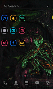 Duck and I LINE Launcher theme screenshot 1