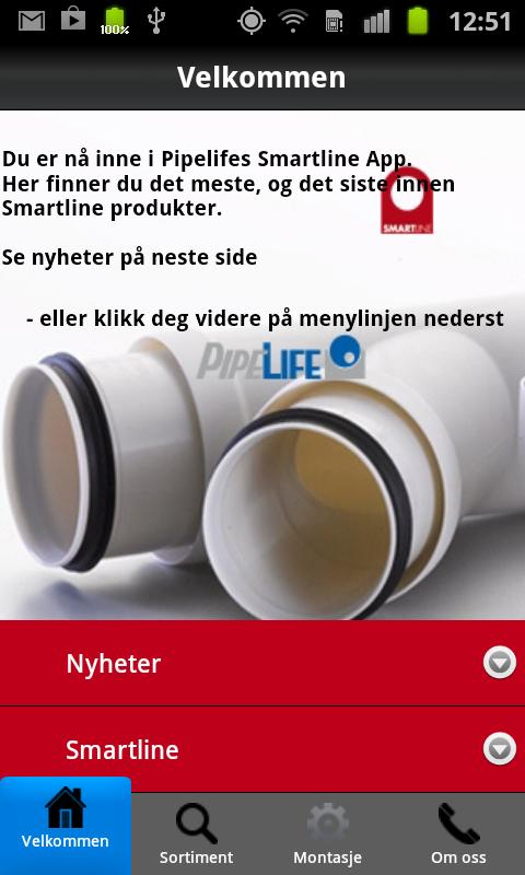 Smartline- screenshot