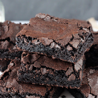 Quick and Easy Brownies {Like a Box Mix!} Recipe
