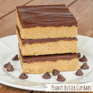 Peanut Butter Cup Bars.