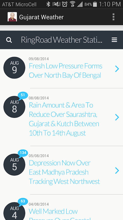 Gujarat Weather- screenshot