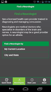 Concussion Quick Check - screenshot thumbnail