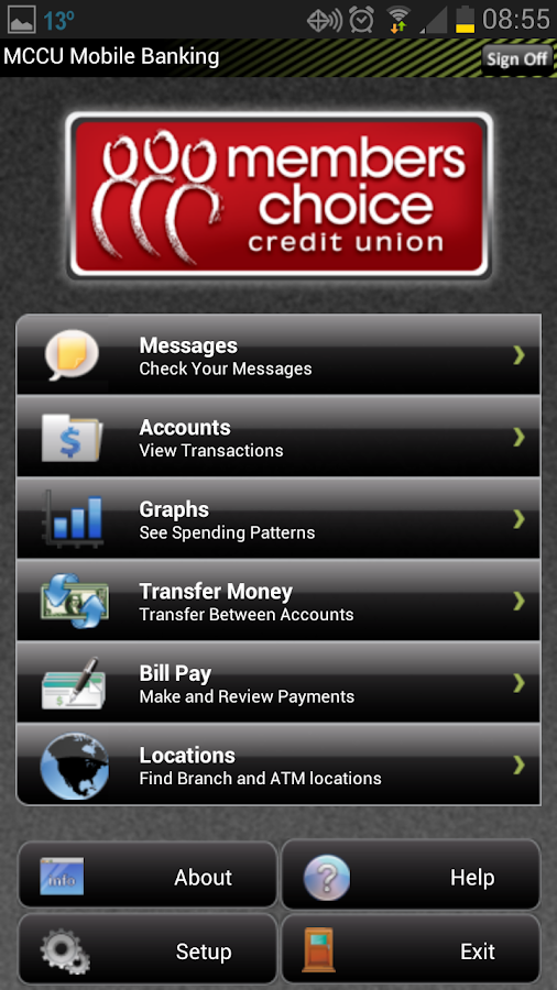 Members Choice CU Mobile - screenshot